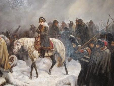 Napoleón Bonaparte y Adolf Hitler vencidos por el invierno ruso